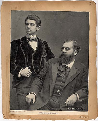 Gerardy and Pugno in Theater Scrapbook Two, pg. 6