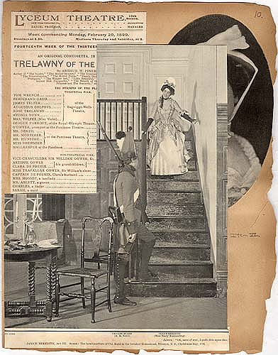 """Janice Meredith"" in Theater Scrapbook Two, overlay to pg 10"