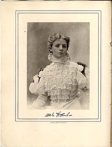 Maude Adams Souvenir Book in Theater Scrapbook Two, pg 14