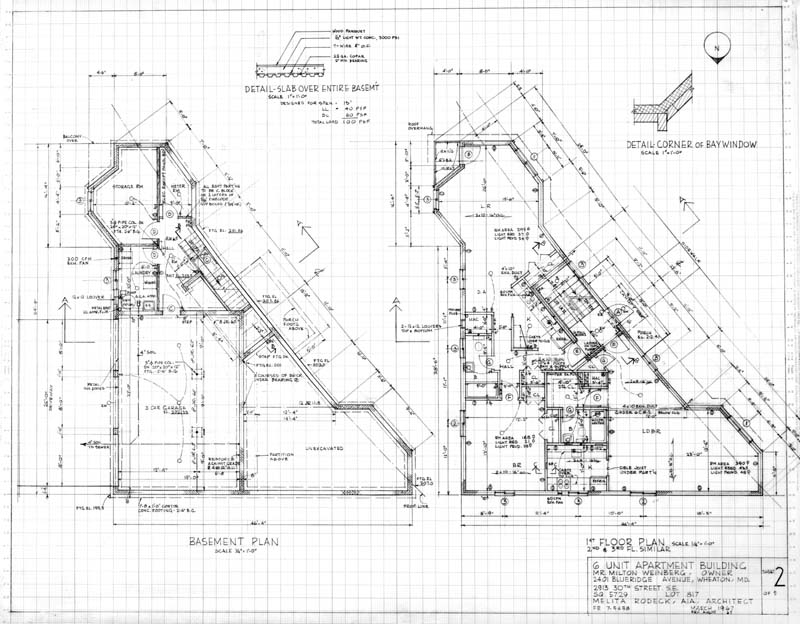 Browsing international archive of women in architecture for Six unit apartment building plans