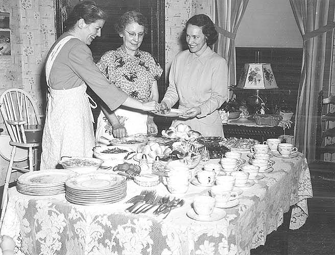 Appomattox Co., VA, home demonstration club food preparation
