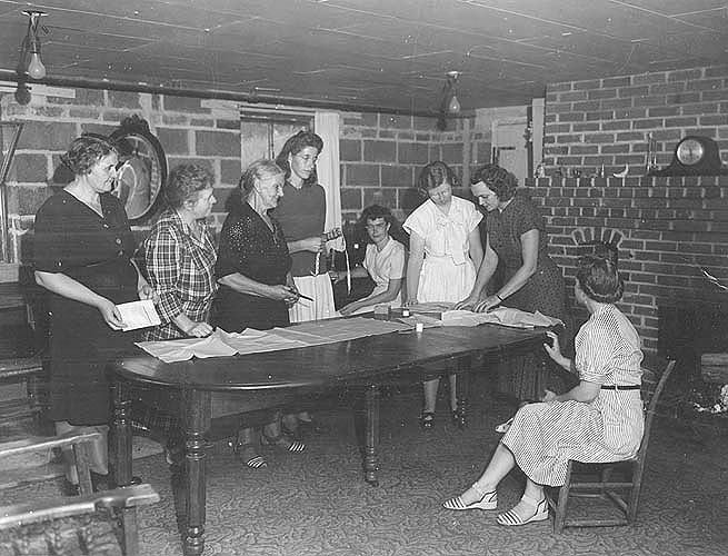 Hanover Co., VA, meeting of Cherry Dale club
