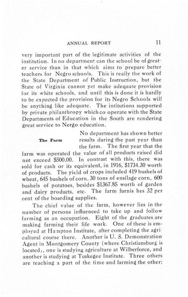 [p. 11] 1916 Annual Report