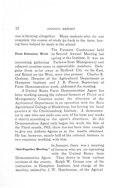 [p. 12] 1916 Annual Report