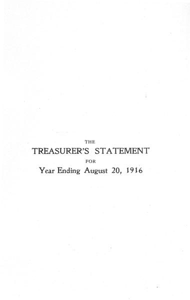 [p. 21] 1916 Annual Report