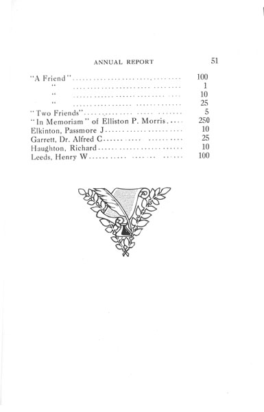 [p. 51] 1916 Annual Report