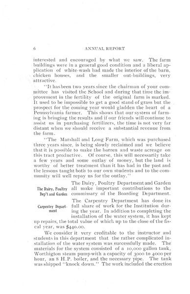 [p. 06] 1908 Annual Report