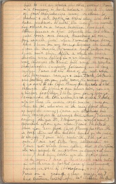 [34] Atkinson Diary Page 33