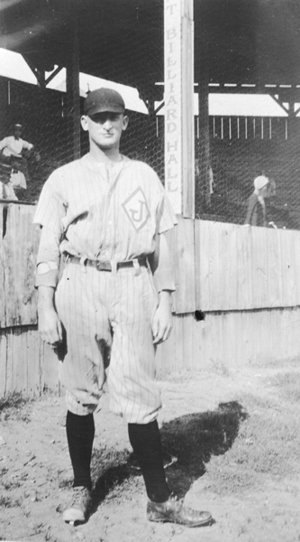 Baseball player at Virginia Polytechnic Institute