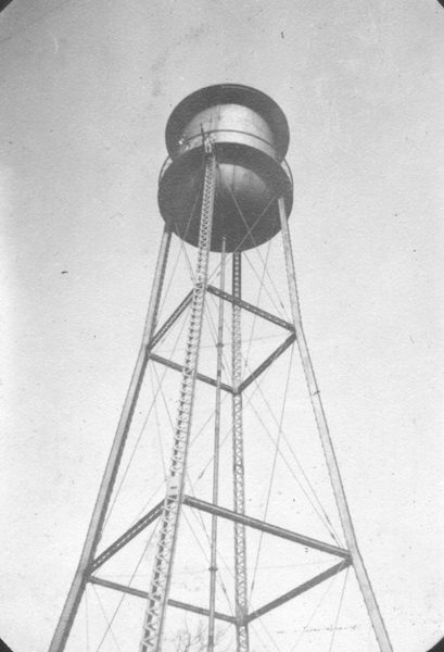 Water tower at Va. Tech