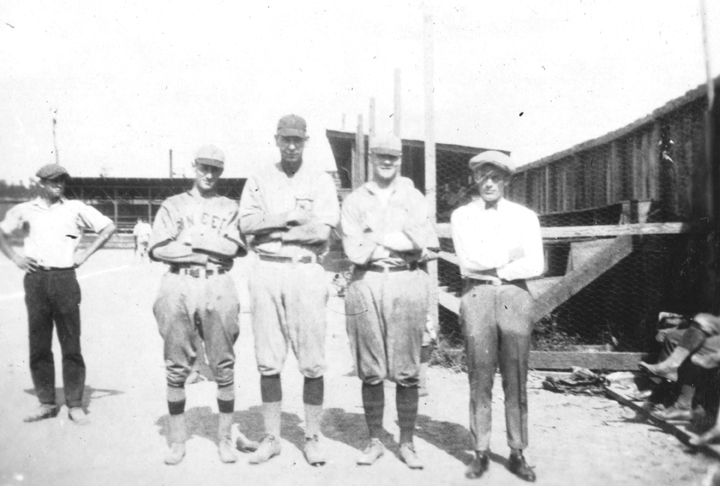 Baseball athletes at Virginia Polytechnic Institute