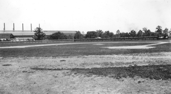 Baseball field at Virginia Polytechnic Institute