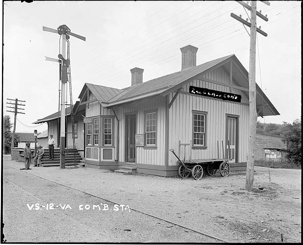 Railroad station in Virginia