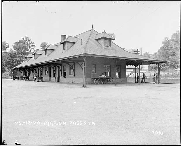 Marion passenger station, Radford/Pulaski District