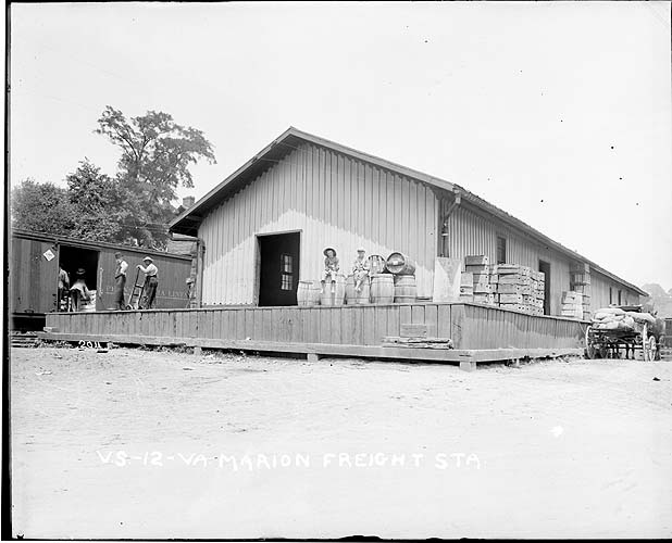 Marion Freight Station, Virghinia, Radford/Pulaski District