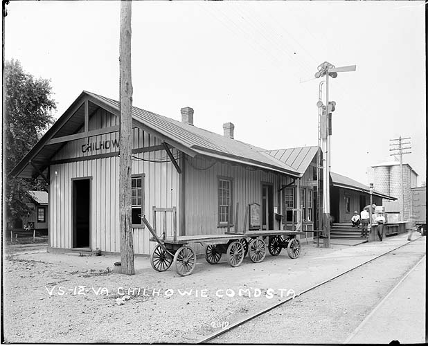 Chilhowie Combination Station, Radford/Pulaski District