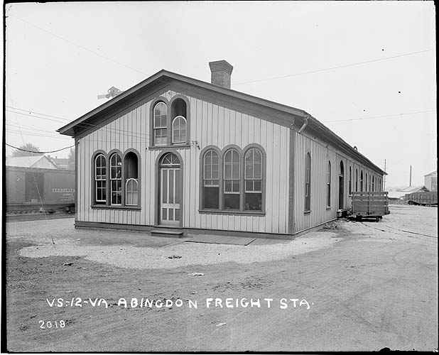 Abingdon Freight Station; Radford/Pulaski District