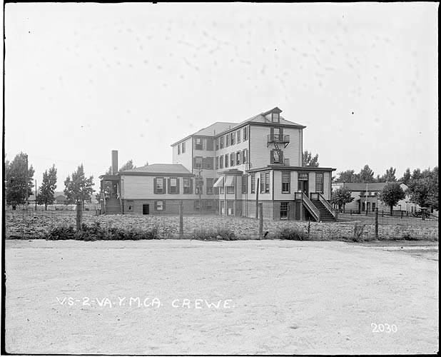 Railroad Y.M.C.A., Crewe, Virginia; Norfolk District