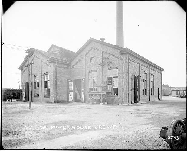 Powerhouse, Crewe, Virginia; Norfolk District