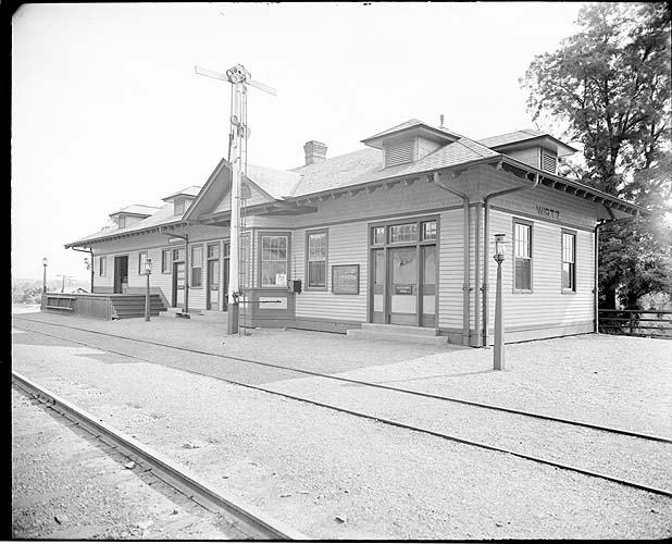 Station, Wirtz, Virginia; Winston-Salem District