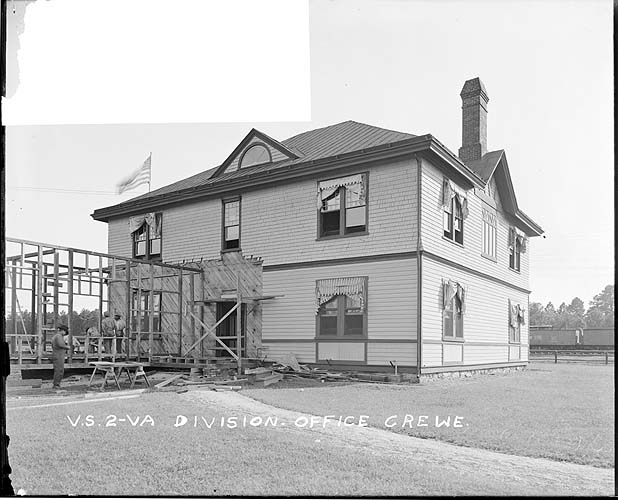 Division Office, Crewe, Virginia; Norfolk District