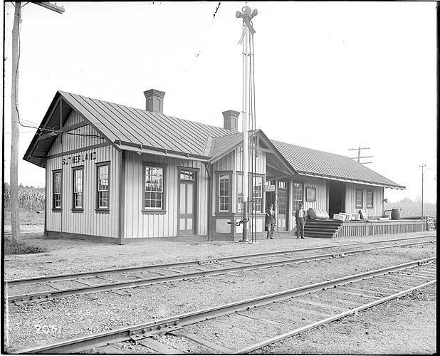 Station, Sutherland, Virginia, Norfolk District