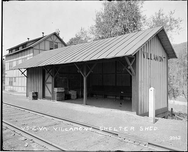 Shelter shed, Villamont, Virginia, Norfolk District