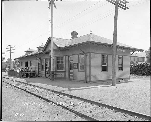 Station, Montvale, Virginia, Norfolk District