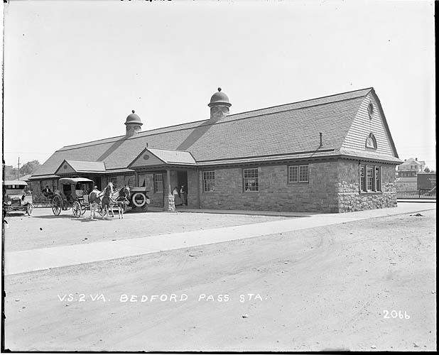 Passenger station, Bedford, Virginia, Norfolk District