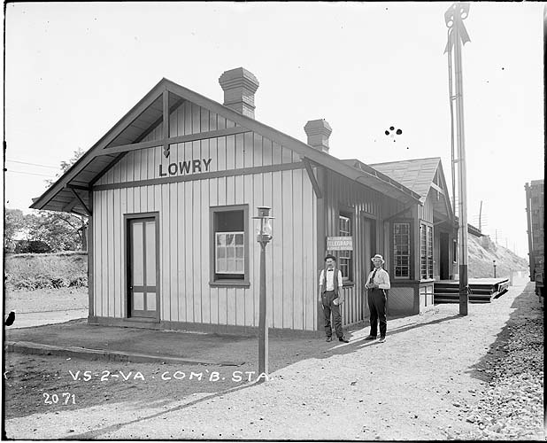 Station, Lowry, Virginia; Norfolk District