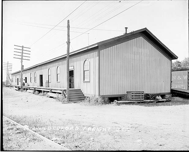 Freight station, Bedford, Virginia, Norfolk District