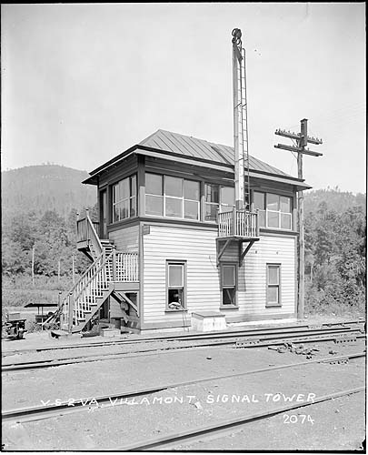 Signal Tower, Villamont, Virginia, Norfolk District
