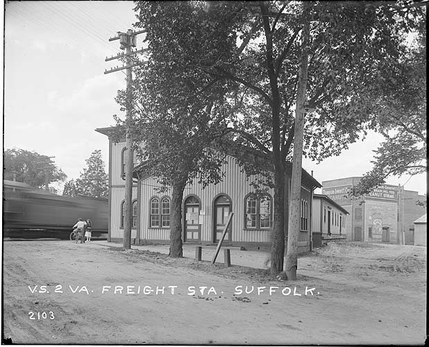 Freight station, Suffolk, Virginia; Norfolk District