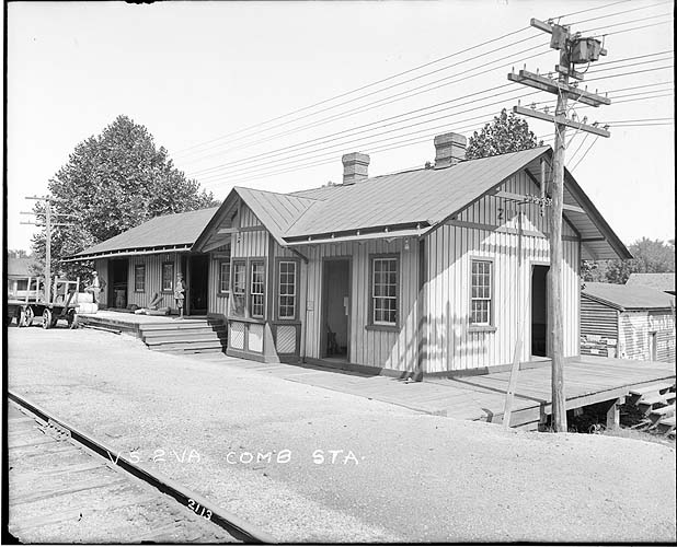 Combination station, Zuni, Virginia; Norfolk District
