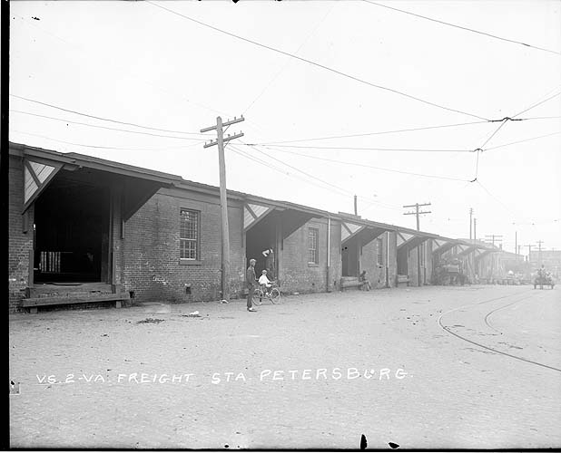 Freight station, Petersburg, Virginia; Norfolk District