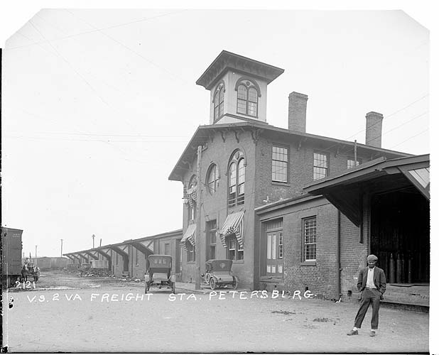 Freight station, Petersburg, Virginia, Norfolk District