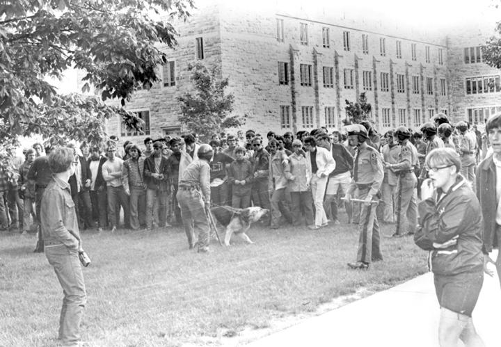 Virginia Tech student unrest